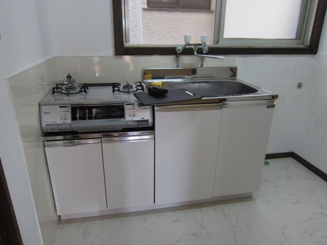 アパートのリフォーム(施工後)キッチン